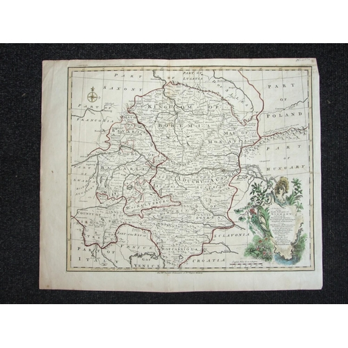 45 - Emanuel Bowen, 'A Correct Map of the South East part of Germany including the Electorate of Bavaria....