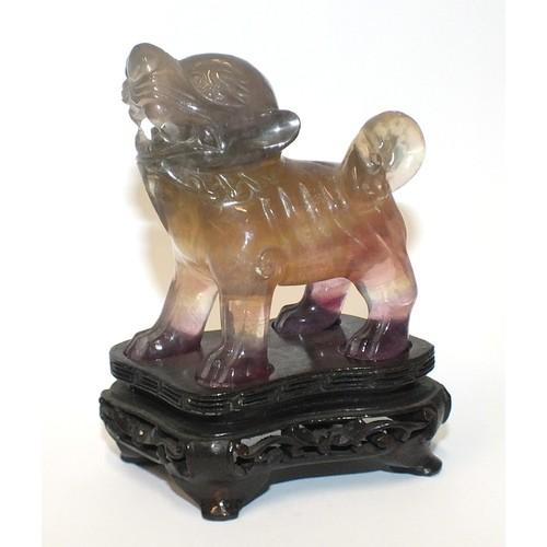 Amethyst temple dog.