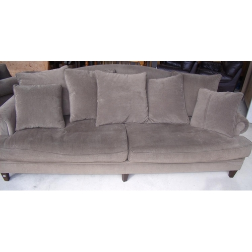 339 - An extremely large Coco Republic sofa with scatter cushions (width 255cm)...