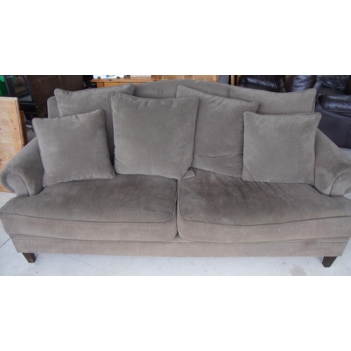 340 - Large two seat Coco Republic sofa with loose cushions (width 215cm)...