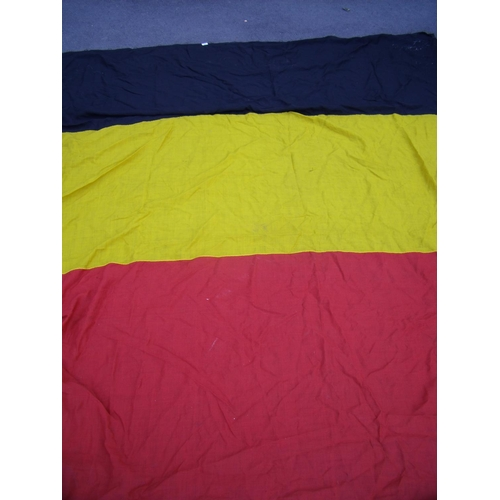 33 - Extremely large early - mid 20th C Belgium flag (255cm x 285cm)...