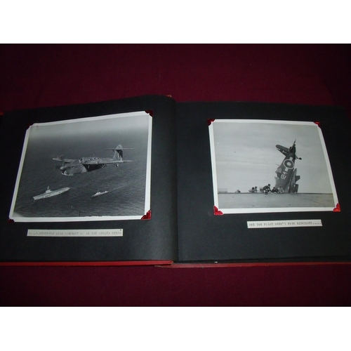 17 - Interesting collection of war and post-war photographs in a album depicting various world views from...