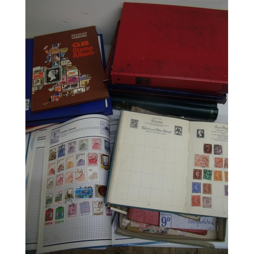 51 - Large selection of various GB and World stamps mostly in albums with a small selection of loose stam...