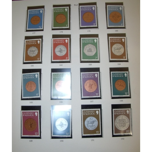 52 - Two albums of various Chanel Island stamps...
