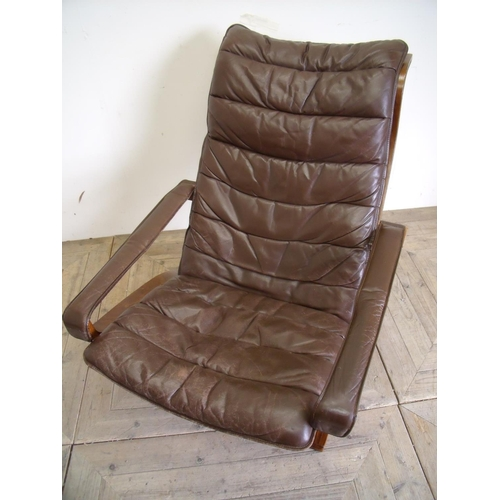 290 - Ingmar Relling Norwegian Siesta lounger chair circa 1960...