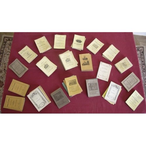 103 - Extremely large collection of early 19th C booklets and fables printed by J Kendrew York, T Ward & C...