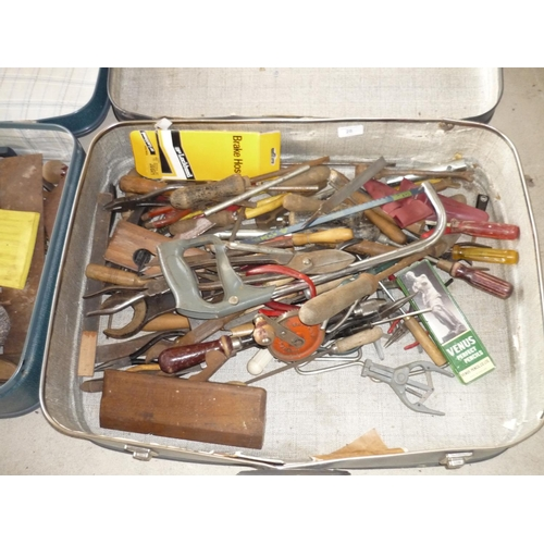 28 - Suitcase of various tools...