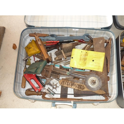 29 - Suitcase filled with various tools...