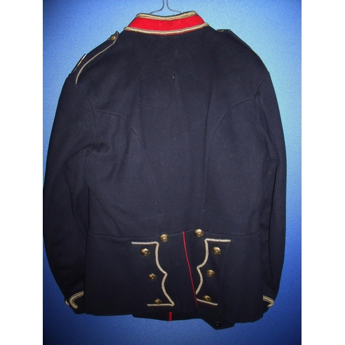 43 - SNCO`s East Anglian Territorial Royal Field Artillery uniform comprising of jacket & trousers with h...