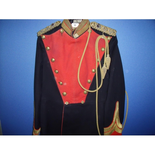 44 - Pre Great War 9th Lancers Colonels uniform tunic with label for Rogers & Company 8 New Burlington St...