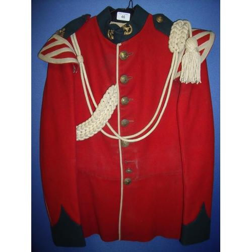 46 - Durham Light Infantry Bandsman's tunic...