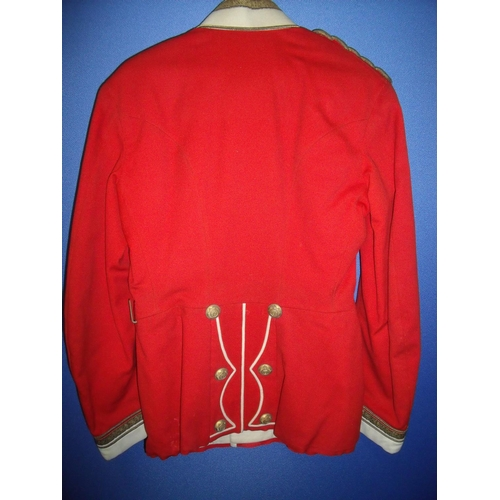 48 - East Surrey pre Great War officers tunic...