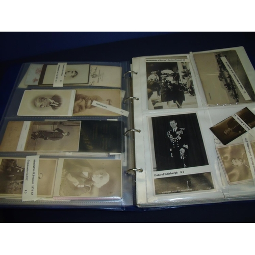 72 - Album of pre WWI and WWII military related photographs including Army and Navy, mostly portrait type...