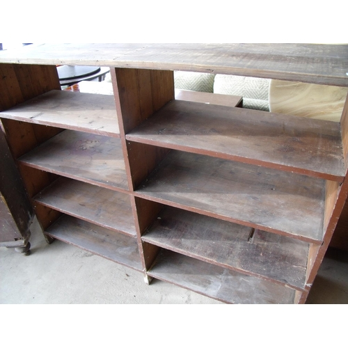28 - Large shelving unit suitable for a shed or garage...