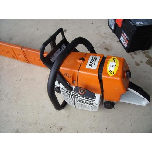 44 - Stihl MS660 petrol chainsaw...