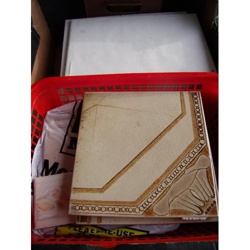 5 - Box of various ceramic tiles...