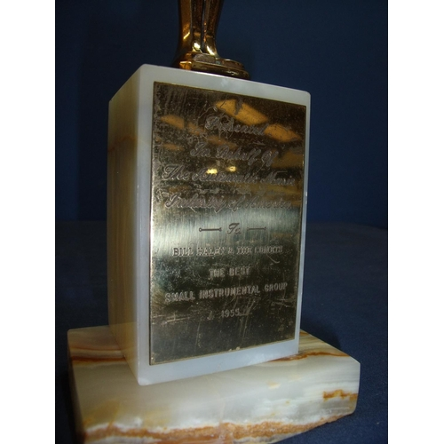 176 - Bill Haley and The Comets - Original Cash Box Award presented on behalf of the American Music Indust...