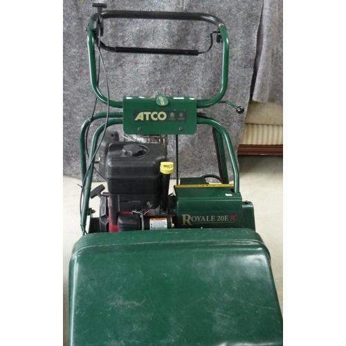 37 - Atco Royal 20E petrol lawnmower...