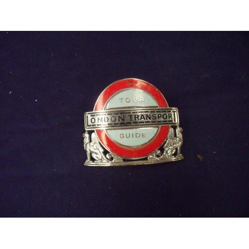 86 - London Transport enamel