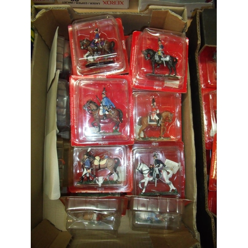 121 - Twenty boxed Del Prado Napoleonic era mounted figures sealed in boxes...