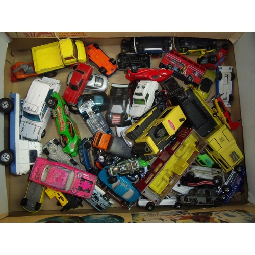 159 - Selection of various assorted diecast vehicles (play worn), mostly Matchbox...
