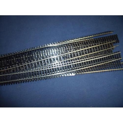 234 - Bundle of nickel silver OO gauge track...