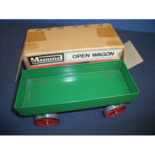 238 - Boxed Mamod open wagon...