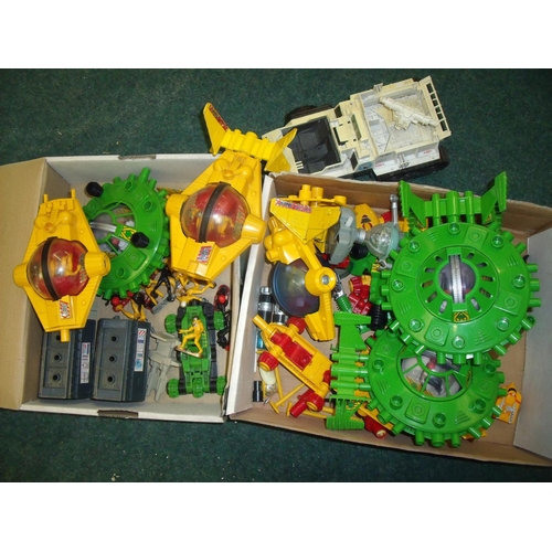 296 - Britians Deetail Stargard diecast sci-fi space toys (2 boxes)...