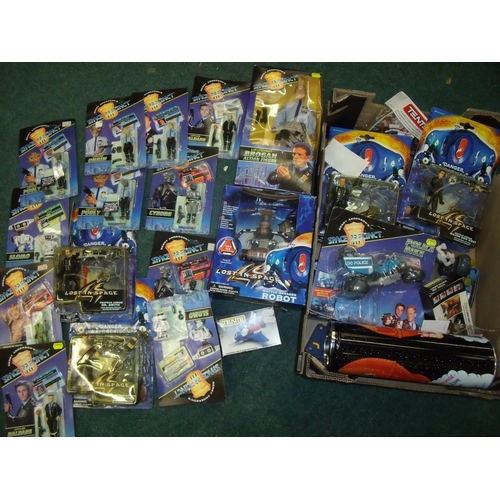 298 - Quantity of space related toys, mostly boxed, including Space Precinct, Lost in Space etc....