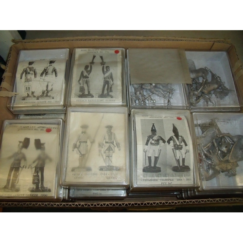 300 - Large quantity of unmade, boxed, cast metal Rose military miniatures, mostly Napoleonic war era...