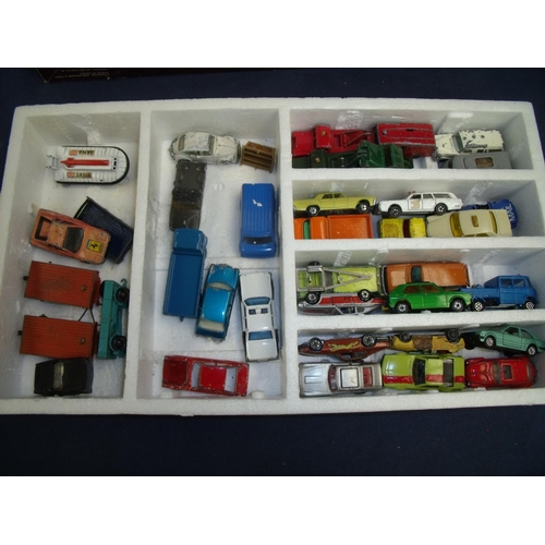314 - Collection of various diecast vehicles including Lesney, Matchbox etc...