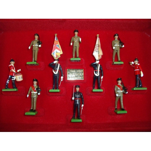 345 - Boxed Britains British Soldiers Series 300 Year Anniversary Commemorative Limited Edition Set for th...