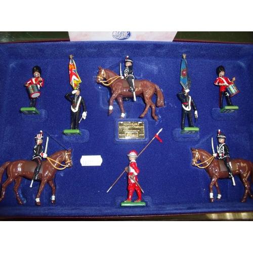 347 - Boxed Britains Limited Edition Honourable Artillery Company boxset No 004763...