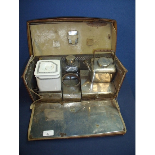 80 - Unusual early to mid 20th C Asprey's of London travelling