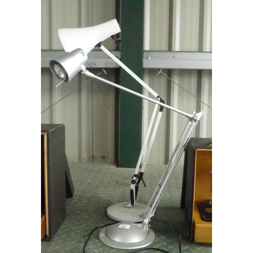 18 - Two desk lamps...