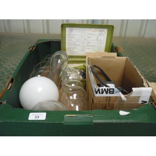 33 - Powerline model 72 hobbyist kit screen glass engraver with glass...