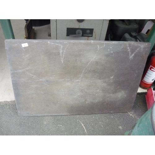 5 - Large slate slab...