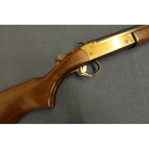 Cooey single barrel  410 shotgun with 26 inch barrel and 13