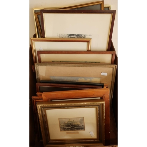 34 - Good selection of 19th C and later framed prints...