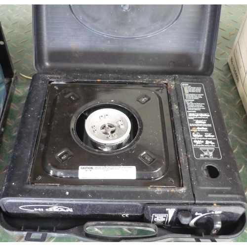 39 - High gear cased camping stove...