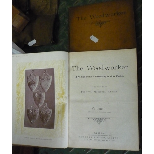 47 - Two volumes of The Woodworker...