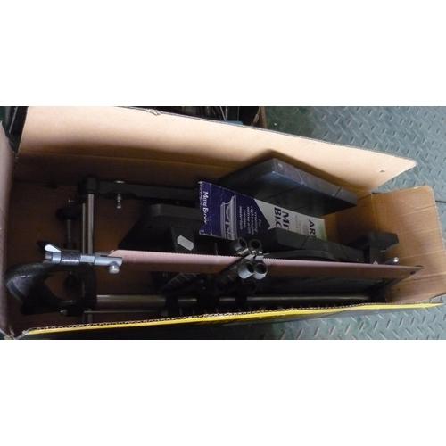 17 - Boxed Wickes Precision miter saw...