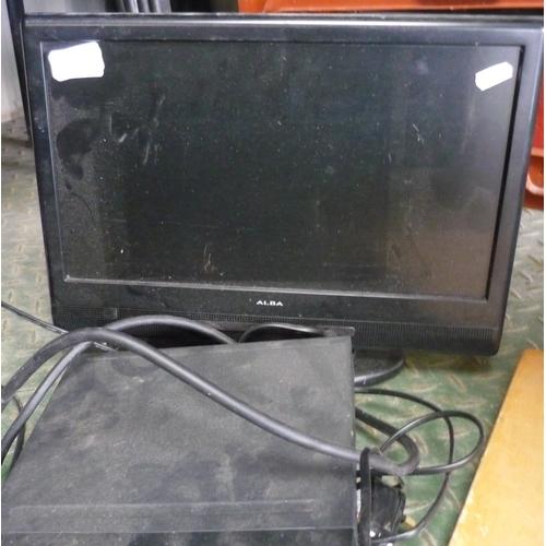 30 - Alba TV and a Tesco DVD player...