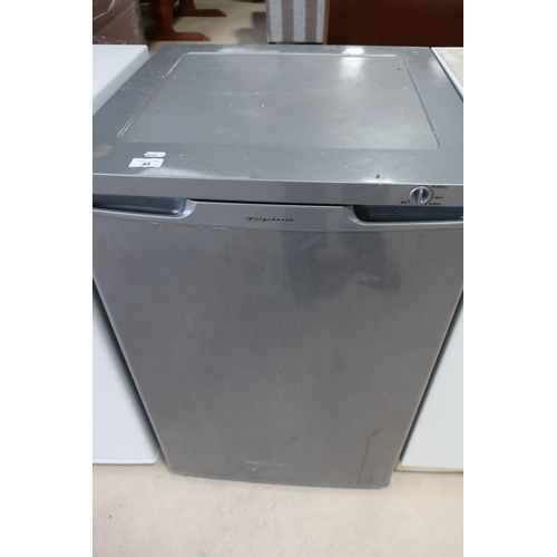 48 - Frigidaire small upright fridge freezer...