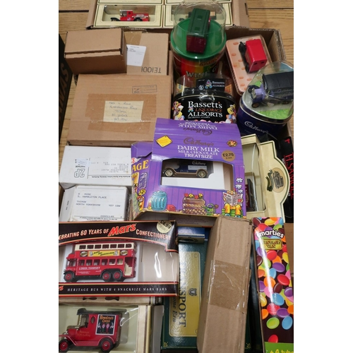 23 - Lledo diecast model vehicles, some commemorative, in one box...