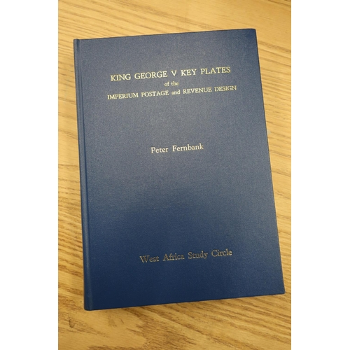 50 - Catalogue of 'King George V Key Plates Of The Imperium Postage And Revenue Design' by Peter Thernban...