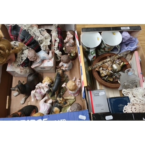 22 - Leonardo Collectors porcelain doll 'Sherry', a selection of other Leonardo porcelain dolls, decorati...