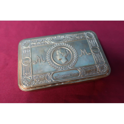 3 - Christmas 1914 Princess Mary chocolate tin...