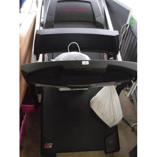 54 - Pro-Form 525ZLT electric treadmill...