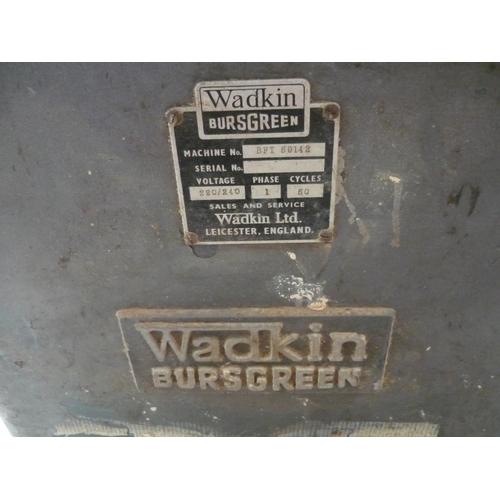 60 - Wadkin Bursgren wood planer...